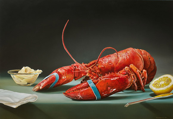 Picture-15 ( 25 Mega Realistic Oil Paintings by Dutch Artist Tjalf Sparnaay )